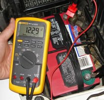 Check Battery Voltage